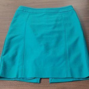 WHBM Teal/Turquoise Skirt